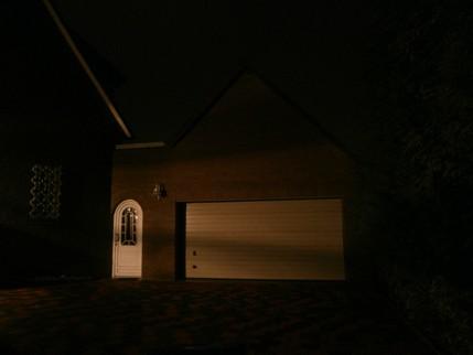 Garage unbeleuchtet